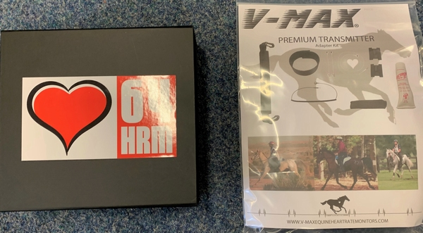 64 HRM Vetgate Belt with V-Max Premium Transmitter set