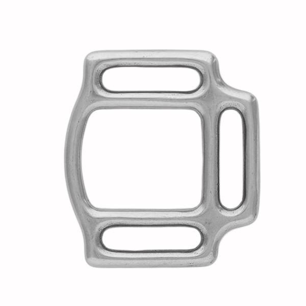 3 loop square Stainless steel