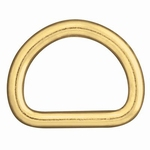 D-Ring (brass, small, 16 mm)