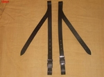 Biothane stirrup straps for K'vall stirrups